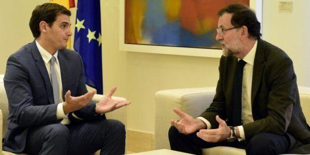 Rivera muestra a Rajoy su