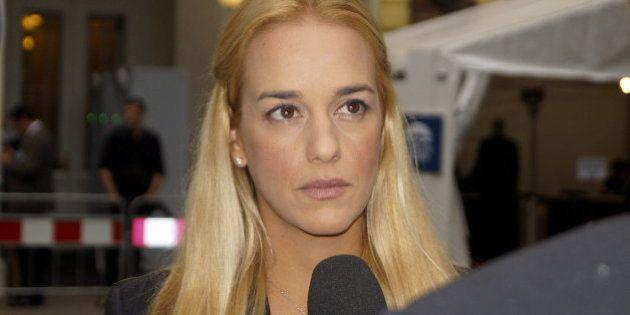 La mujer de Leopoldo López ve