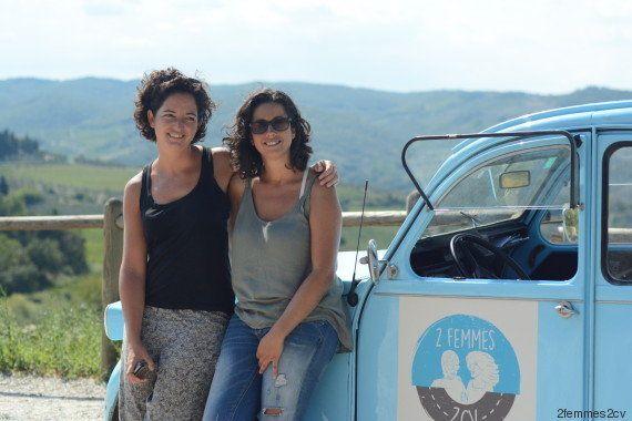 Dos mujeres en un dos caballos: la original vuelta al mundo de estas