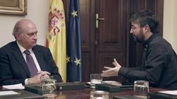 Cuando Fernández Díaz negó a Évole haber filtrado informes a la