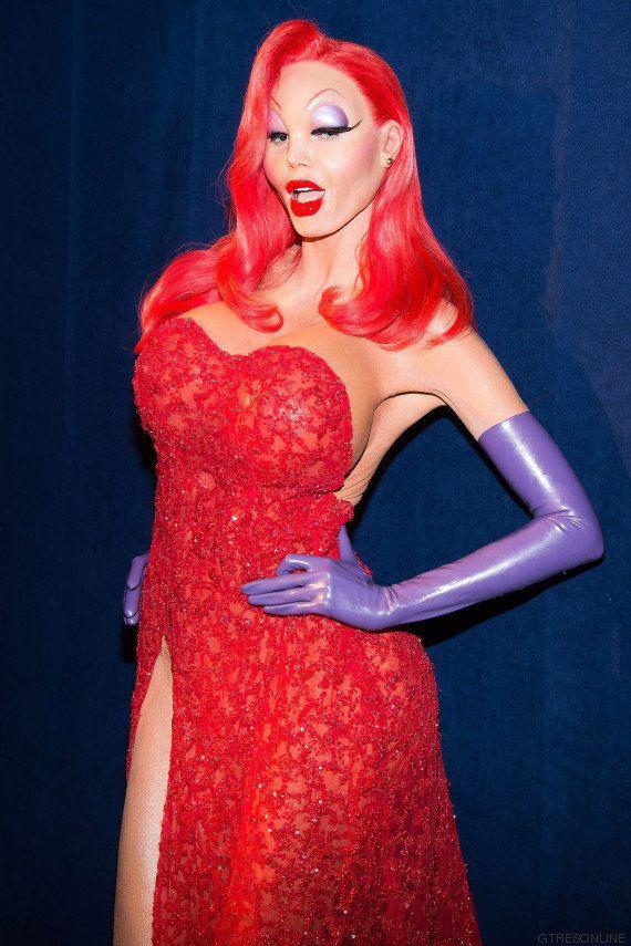 El disfraz más explosivo de Heidi Klum: se convirtió en Jessica Rabbit por Halloweeen
