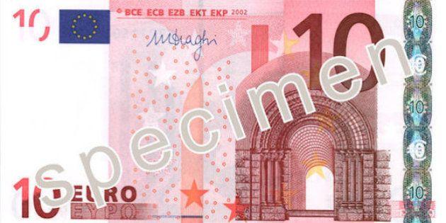 El nuevo billete de 10 euros se emitirá después del verano de