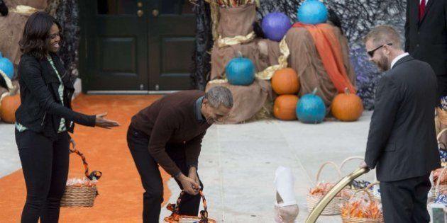 Halloween 2015: la gran fiesta de los Obama en la Casa