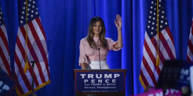 Melania Trump promete ser