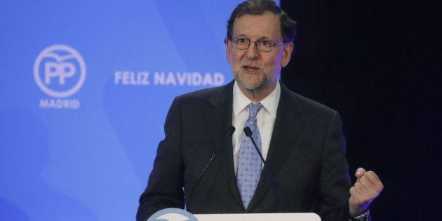 El último lapsus de Rajoy en la cena de Navidad: