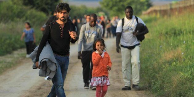 Croacia, nueva ruta de entrada a la UE para los refugiados tras el cierre de la frontera entre Hungría...