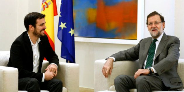 Alberto Garzón rechaza sumarse al