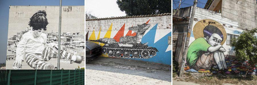Los mejores grafitis de Brasil se concentran en Grajaú, un barrio de São