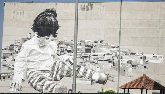 Los mejores grafitis de Brasil se concentran en este