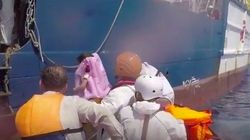 Esta imagen de un bebe en el naufragio de Libia te va a hacer pensar