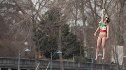 El recibimiento de Femen al presidente iraní en