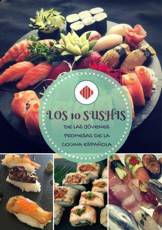 Las 10 recetas más originales de sushi de los chefs españoles más