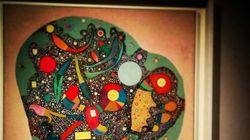 Kandinsky en Madrid: sus cuadros, pasados por