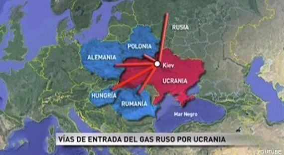 Telemadrid sitúa a Alemania en Polonia y a Polonia en Bielorrusia