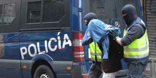 Tres detenidos en Madrid vinculados al Estado