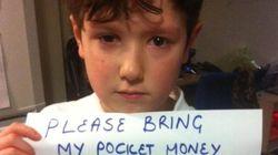 El mensaje de un niño al que vendieron un móvil roto provoca la solidaridad