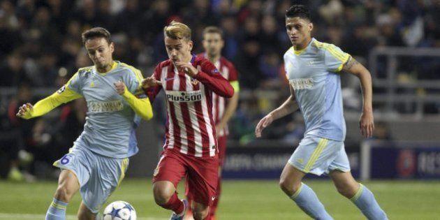 El Atlético se atasca contra el Astana