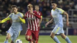 Los palos frenan al Atlético ante el Astana