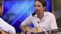 Así ha sorprendido Pablo Iglesias cantando en El