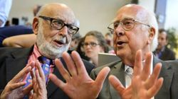 Los padres del bosón de Higgs, Nobel de