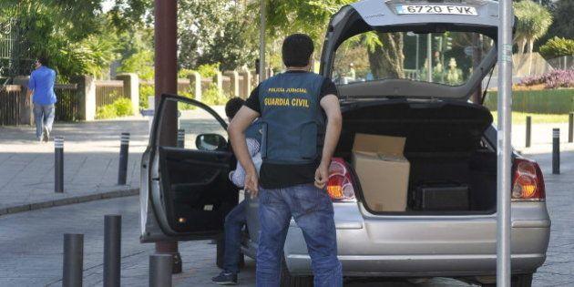 Detenidos un alto cargo de la Diputación de Sevilla y varios sindicalistas por el 'caso de los