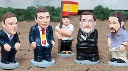 Carmena, Colau, Iglesias, Rivera... los nuevos 'caganers' de