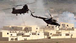 Tres soldados belgas, heridos en las maniobras de la OTAN en