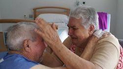 La emotiva historia de dos ancianos separados en dos hospitales tras 46 años