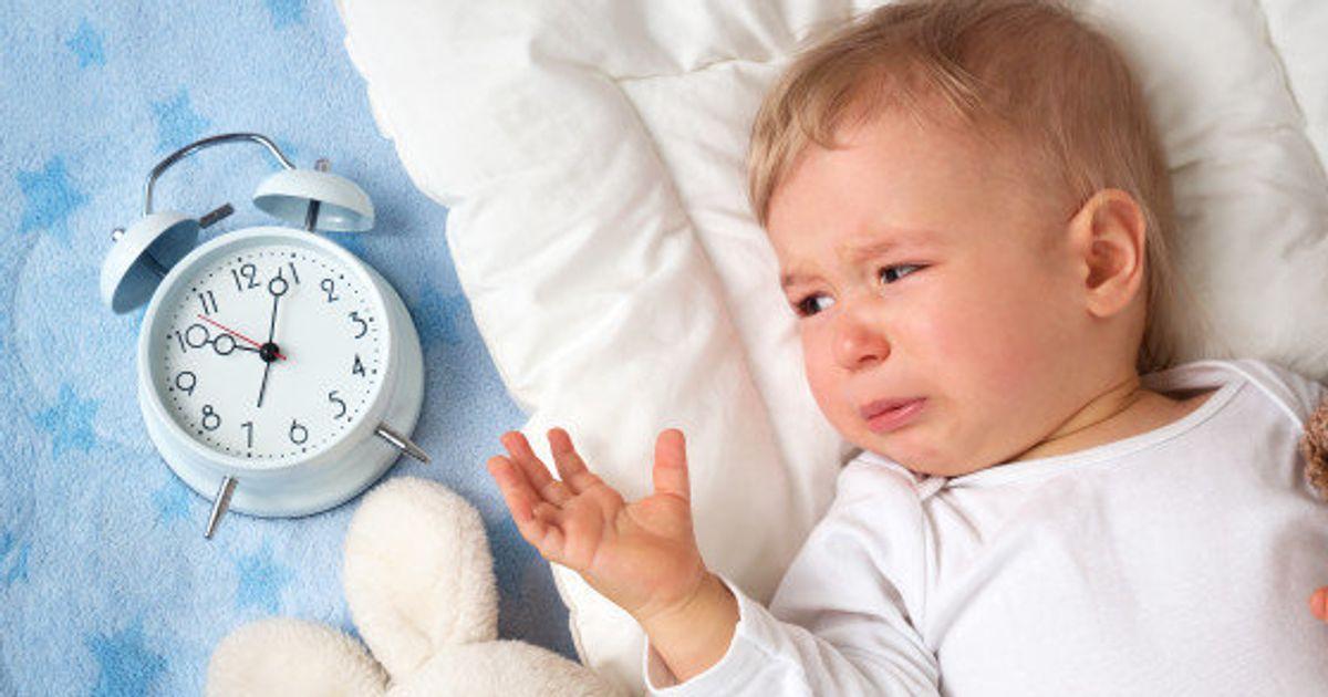 cuando los bebés no pueden comer de noche
