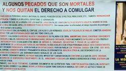 Un cura de Albacete prohíbe comulgar a los que usen condón, a los cotillas o a los que vean