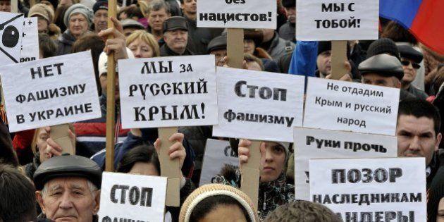 El Parlamento de Crimea pide su anexión a Rusia y convoca un referéndum para el 16 de