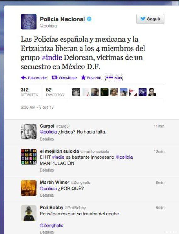 Secuestro de Delorean en México: la policía anuncia en Twitter que ha liberado a 4 miembros del