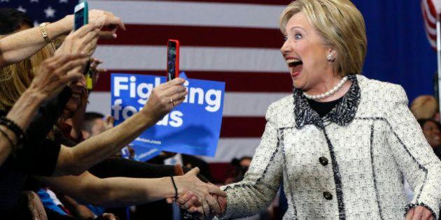 Clinton gana impulso con una contundente victoria en Carolina del