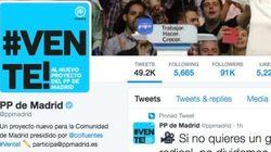 La lección de ortografía fallida del PP de Madrid en