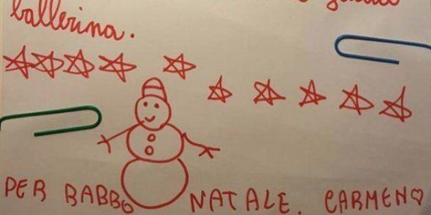 La carta viral de una niña de 6 años a Papá Noel y su tierna