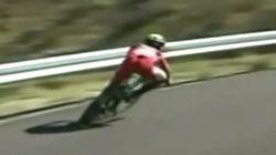 La caída del líder de la Vuelta