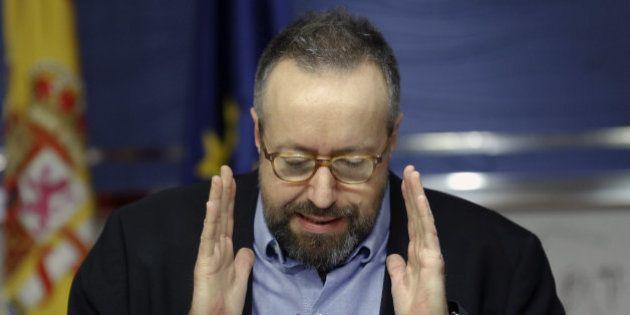 El portavoz de Ciudadanos en el Congreso se marcha enfadado de una entrevista en la radio pública