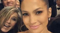 Jennifer Lopez se hace un 'selfie' y después sufre un 'photobomb'