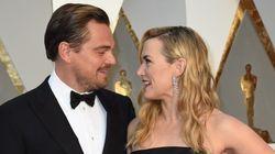 El momento 'Titanic' de DiCaprio y Kate