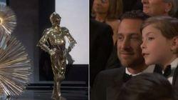 El momento más tierno de los Oscar