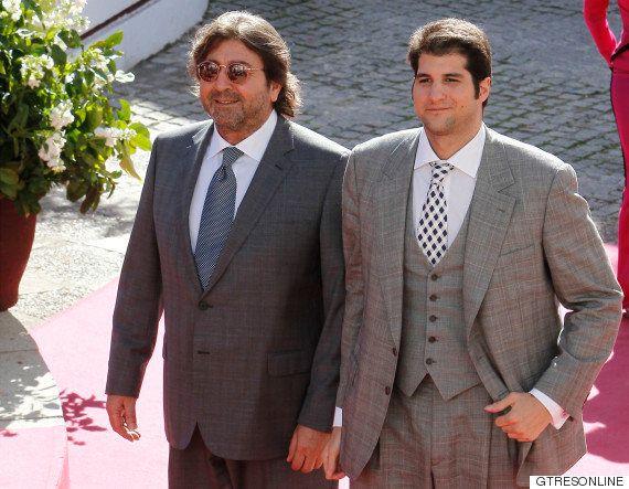 El error de protocolo de Julián Contreras en la boda de su hermano Cayetano Rivera y Eva