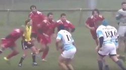 Un jugador de rugby, suspendido tres años por hacerle esto a una