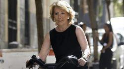 Esperanza Aguirre está