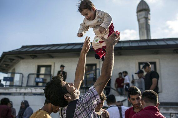 13 'fotos felices' de refugiados que se hicieron