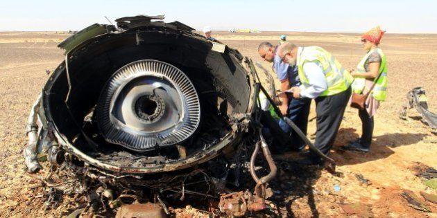 Las grabaciones de una caja negra confirman que hubo una explosión repentina antes de la caída del avión