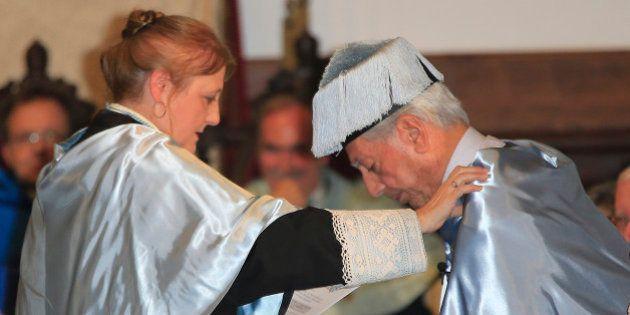 Mario Vargas Llosa, nombrado doctor 'honoris causa' por la Universidad de