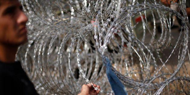 Hungría construye una valla en la frontera con Croacia para bloquear el paso a los