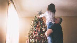 Carta de Navidad a todos los padres, de parte de un niño que no los