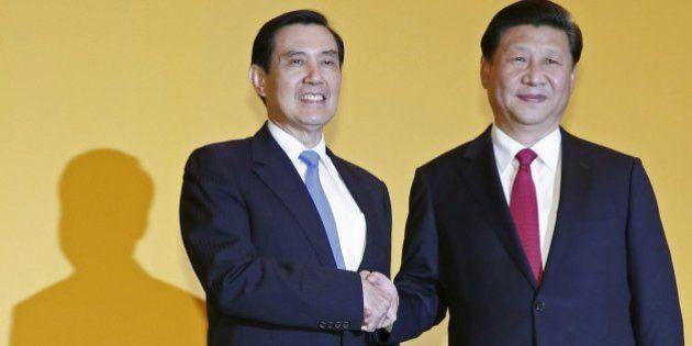 Los presidentes de China y Taiwán hacen historia con su primera cumbre en 66