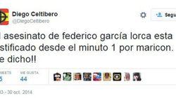 El despreciable tuit sobre García Lorca que investiga la